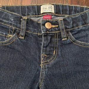 EUC denim jeans bootcut stretch